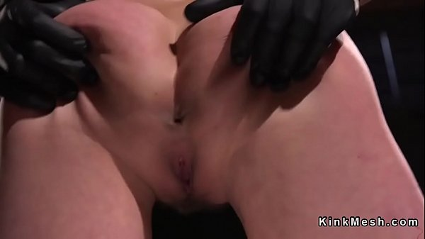 Hairy pussy, Hogtied