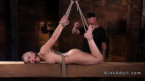 Hogtied, Fisting anal, Anal toy, Pussy fisting