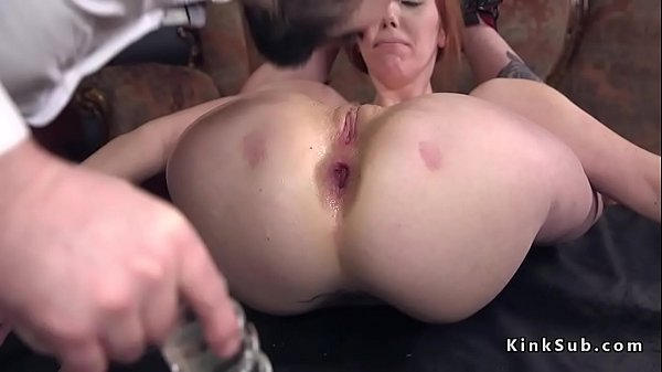Huge toy, Anal toy, Tie up