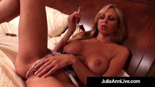 Julia ann, Smoking, Julia