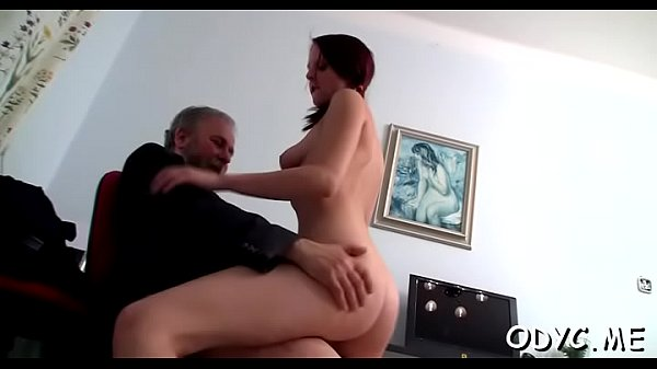 Old and young, Young blowjob