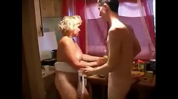 Young boy and mom, Horny step mom