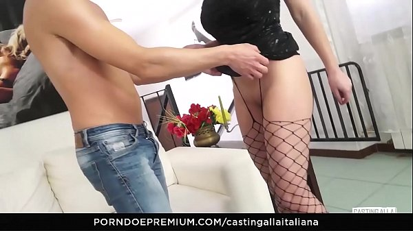 Casting, Italian, Italian anal, Casting anal