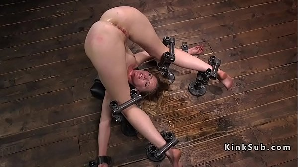 Squirt anal, Slave, Anal toy