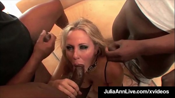 Julia, Julia ann, Anne, Monster anal, Interracial milf, Anal interracial